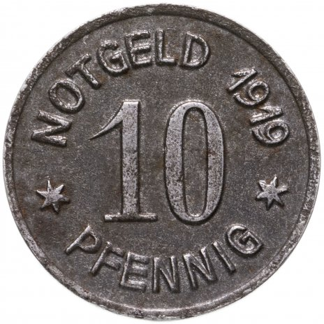 купить Германия, Бинген 10 пфеннигов 1919
