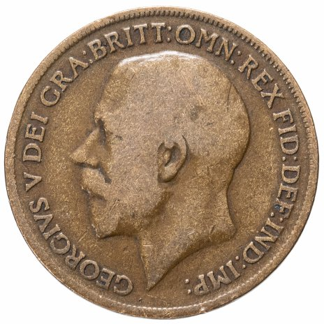 купить Великобритания 1 пенни (penny) 1911-1926, случайная дата