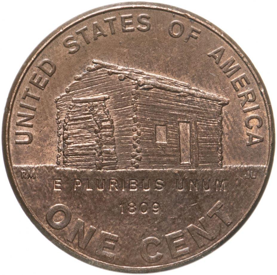 """купить США 1 цент 2009 """"200 лет со дня рождения Авраама Линкольна - Детство в Кентукки"""""""