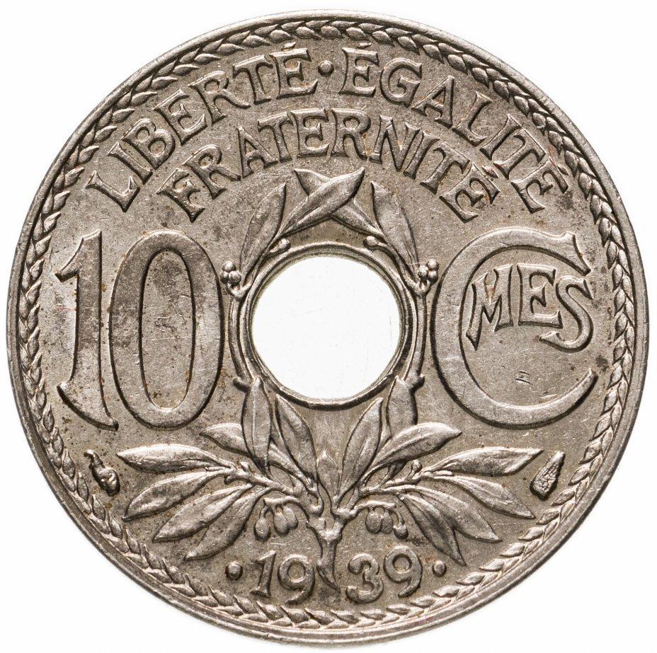 купить Франция 10сантимов (centimes) 1939