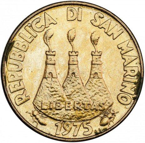 купить Сан-Марино 20 лир 1975