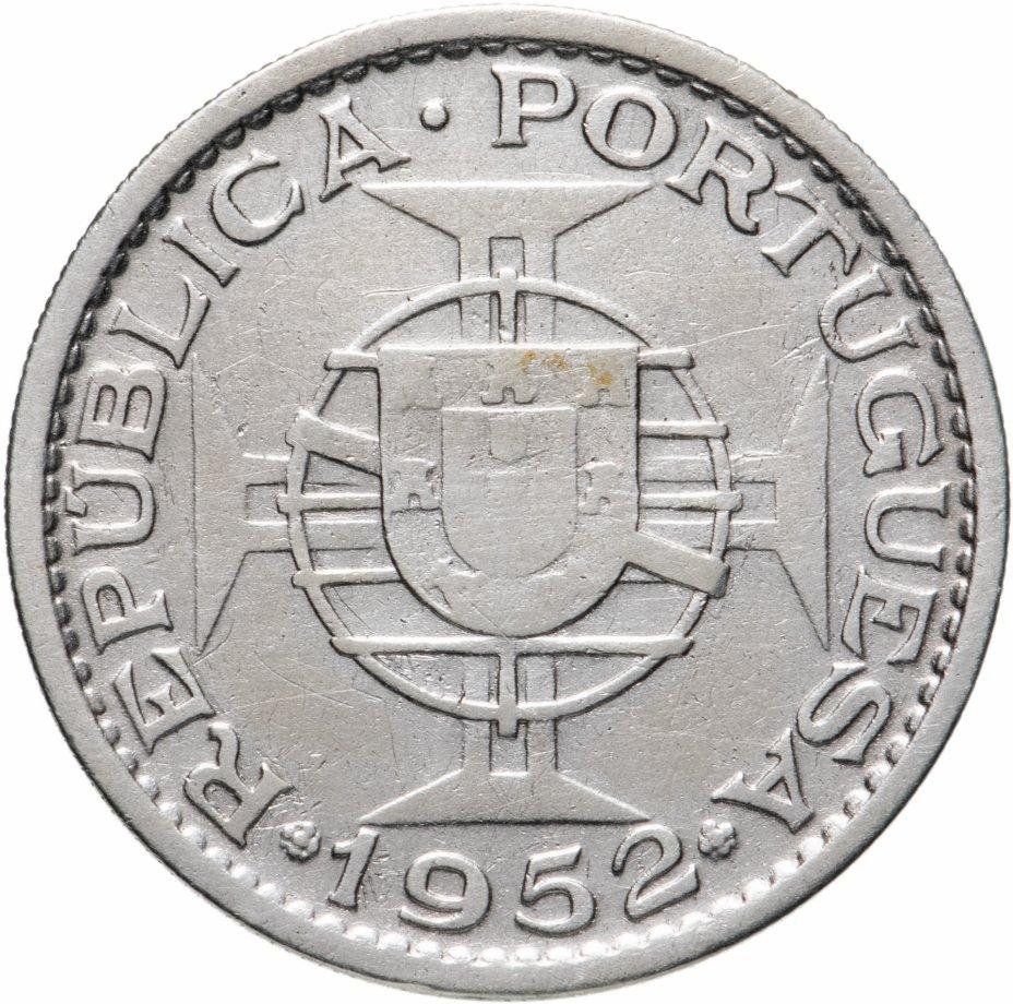 купить Португальский Мозамбик 20 эскудо 1952