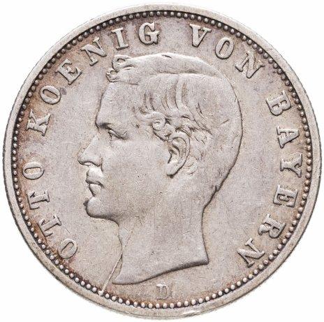 купить Германская Империя, Бавария 2 марки 1904 D