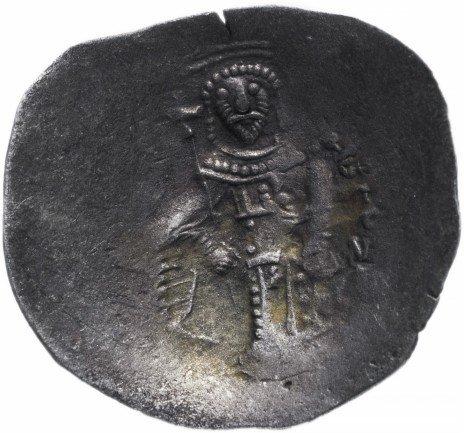 купить Тырново, аспрон трахи, сцефатная - болгарское подражание монетам Алексея III Ангела (1195–1203)