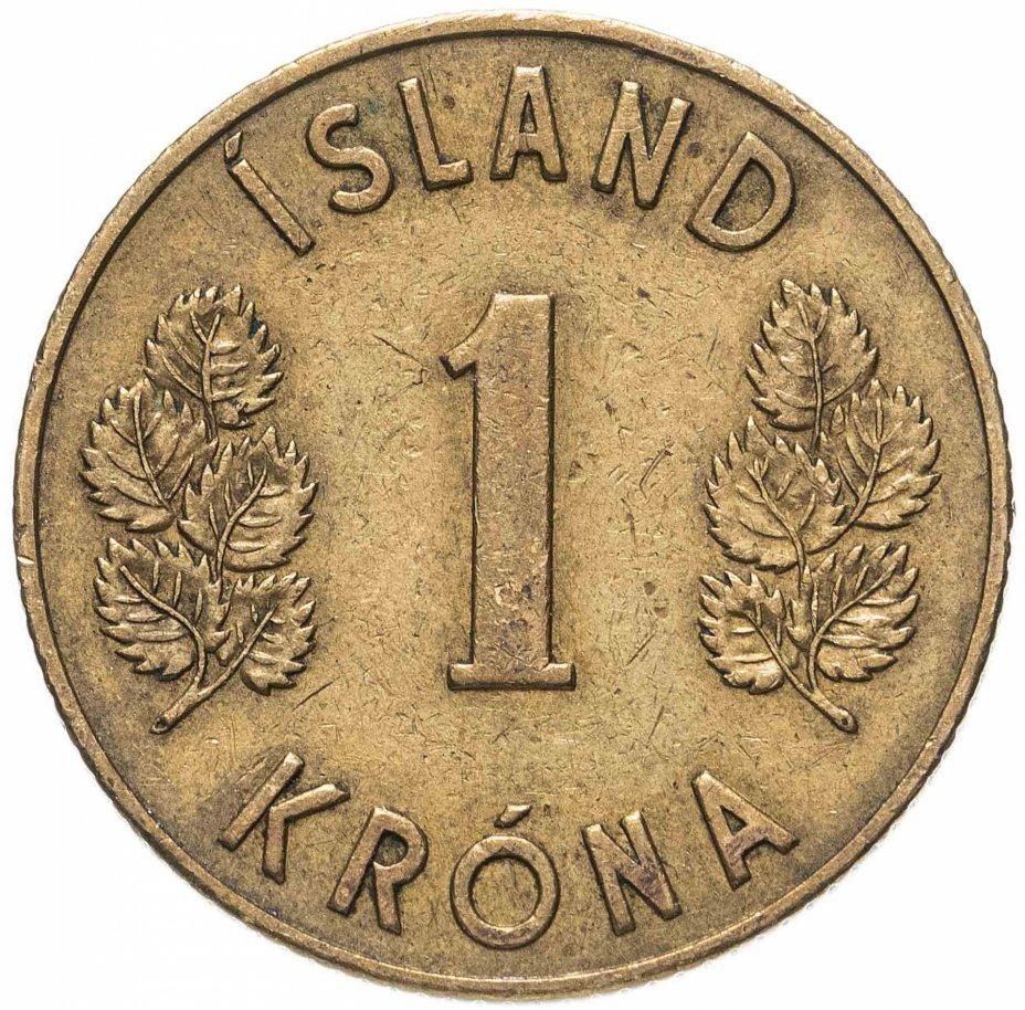 купить Исландия 1 крона (krona) 1946