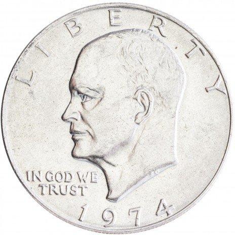 купить США 1 доллар 1974 Эйзенхауэр, двор P