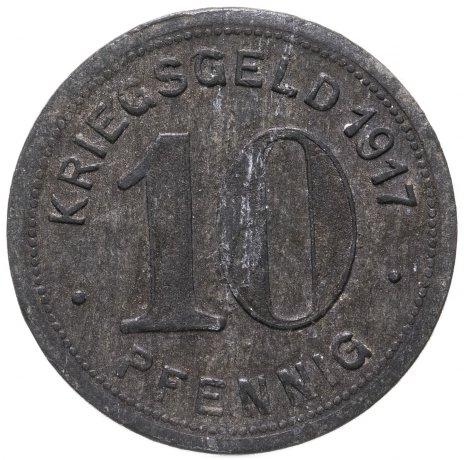 купить Германия, Эльберфельд 10 пфеннигов 1917