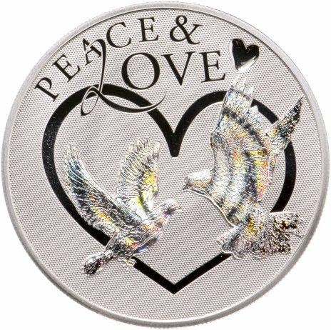 купить Токелау 5 долларов 2012 «Мир любви»