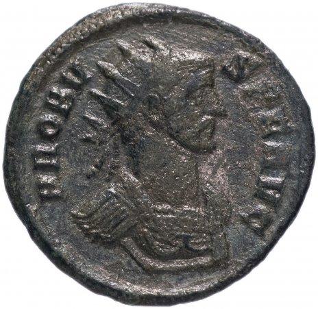 купить Римская Империя Проб 276–282 гг антониниан (реверс: Фидес стоит влево, держит два штандарта)