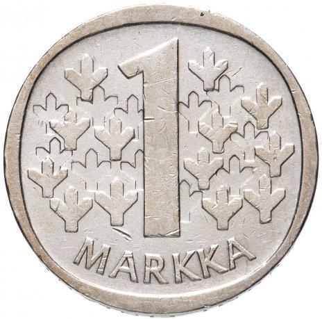 купить Финляндия 1 марка 1964-1966, случайный год
