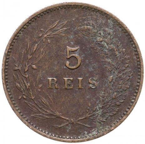 купить Португалия 5 рейс (reis) 1906