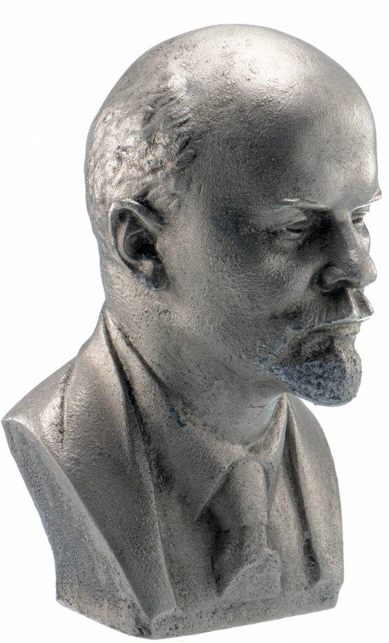 """купить Бюст """"Владимир Ильич Ленин"""", силумин, литье, скульптор Б.А.Петров, СССР, 1970-1980 гг."""