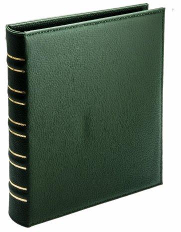 купить Альбом вертикальный «Элит» с листами для 100 бон (40 листов) т.зеленый