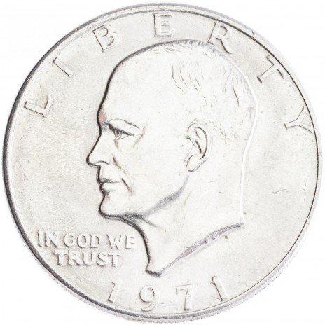 купить США 1 доллар 1971 Эйзенхауэр, двор P