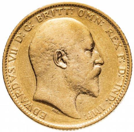 купить Австралия, соверен (sovereign) 1903 знак монетного двора M - Мельбурн