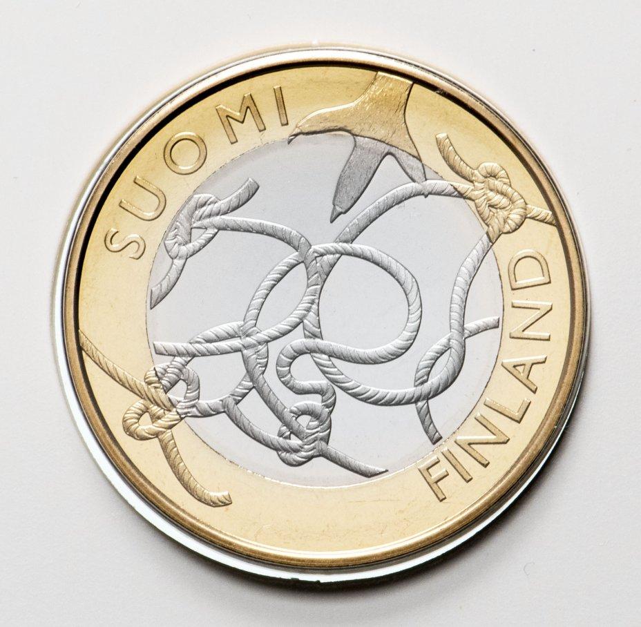 """купить Финляндия 5 евро 2011 """"Провинции - Хамё (Тавастия)"""" в буклете"""