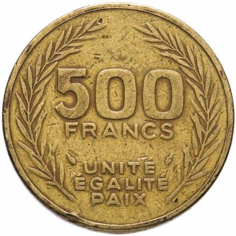 купить Джибути 500 франков (francs) 1991