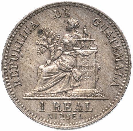 купить Гватемала 1 реал 1910