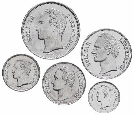 купить Венесуэла набор монет 1989-1990 (5 штук)