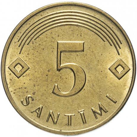 купить Латвия 5 сантимов 2009