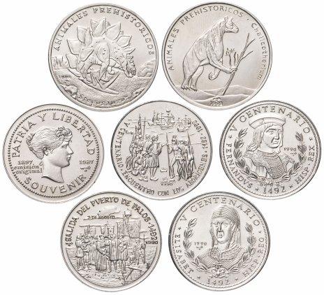 купить Куба набор из 7 монет 1 песо 1987-1994