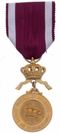 купить Медаль Ордена «Короны» 1 класса «в золоте», в футляре