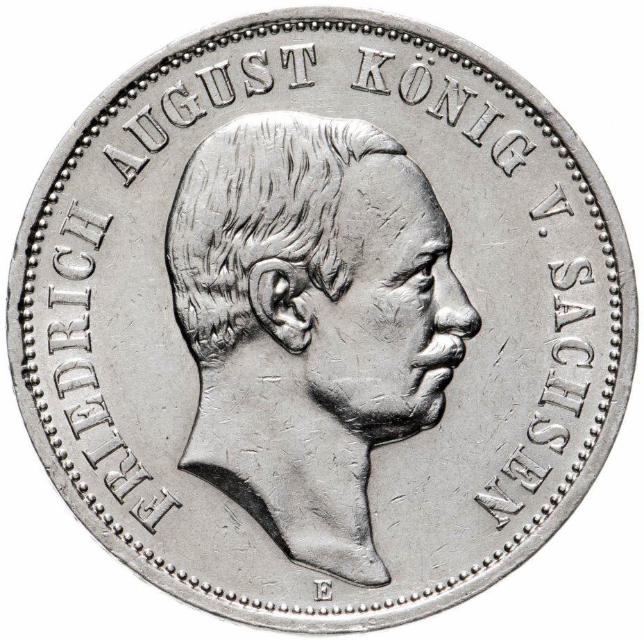 купить Германская Империя, Саксония 3 марки 1910 Е