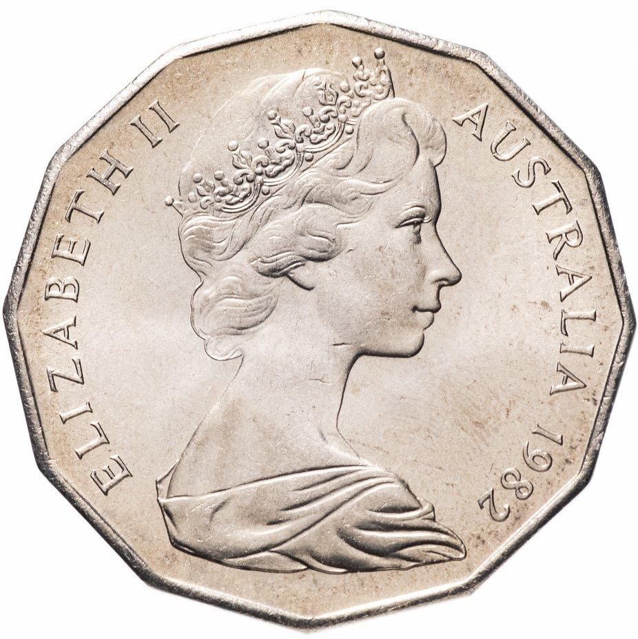 купить Австралия 50 центов (cents) 1982 XII Игры Содружества