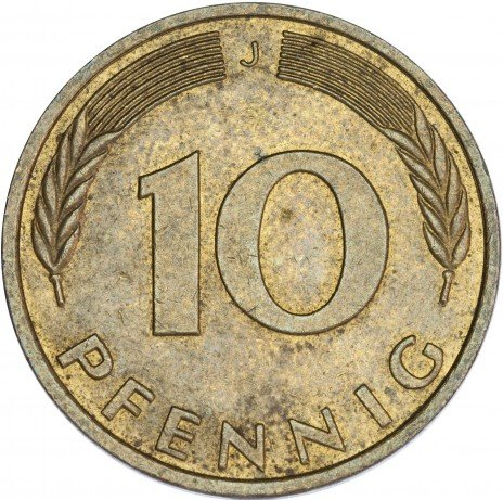 купить Германия 10 пфеннигов 1994