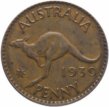 купить Австралия 1 пенни 1938-1956