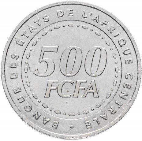 купить Центральная Африка 500 франков КФА 2006