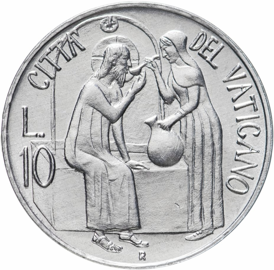 купить Ватикан 10лир (lire) 1981