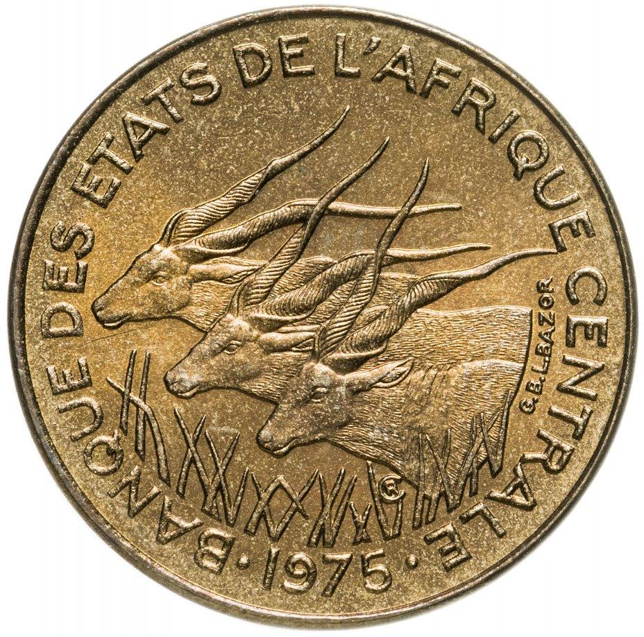 купить Центральная Африка (BEAC) 5 франков (francs) 1975