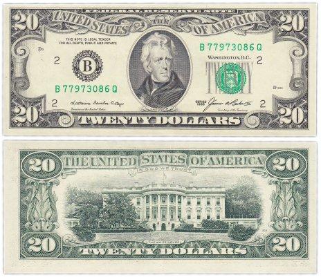 купить США 20 долларов 1985 (Pick 477)