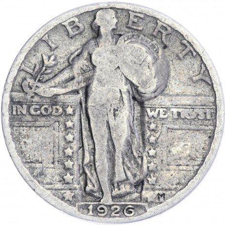 купить США 25 центов (квотер) 1926