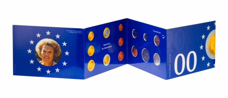 купить Нидерланды набор из 6 монет 2000, в буклете