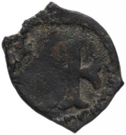 купить Римская Империя, император не установлен, денариевая монета (реверс: фрагмент креста с раздвоенным концами ветвей)