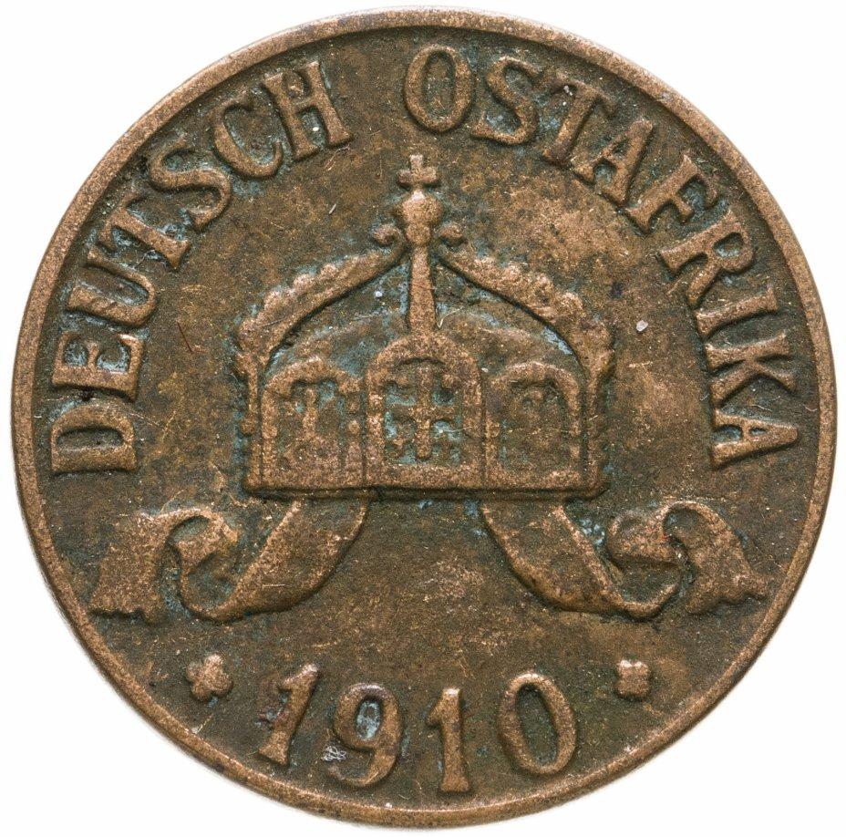"""купить Германская Восточная Африка 1 геллер 1910 """"J"""""""