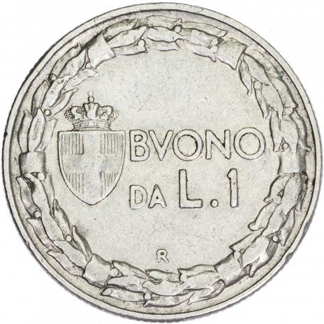 купить Италия 1 лира 1924