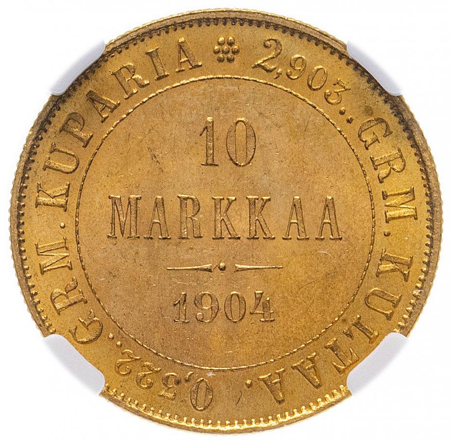 купить 10 марок 1904 L в слабе NGC MS64+, Биткин №392 (R1)