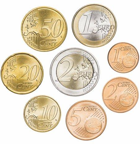 купить Австрия набор монет евро 2011 (8 штук)