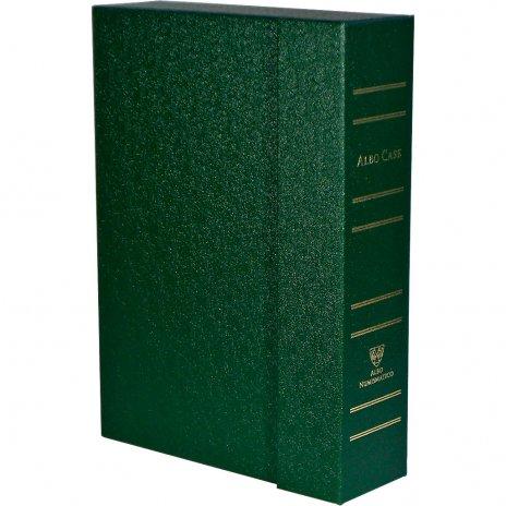 купить Albo Case - система хранения монет в квадратных капсулах на 4 кассеты, зеленого цвета