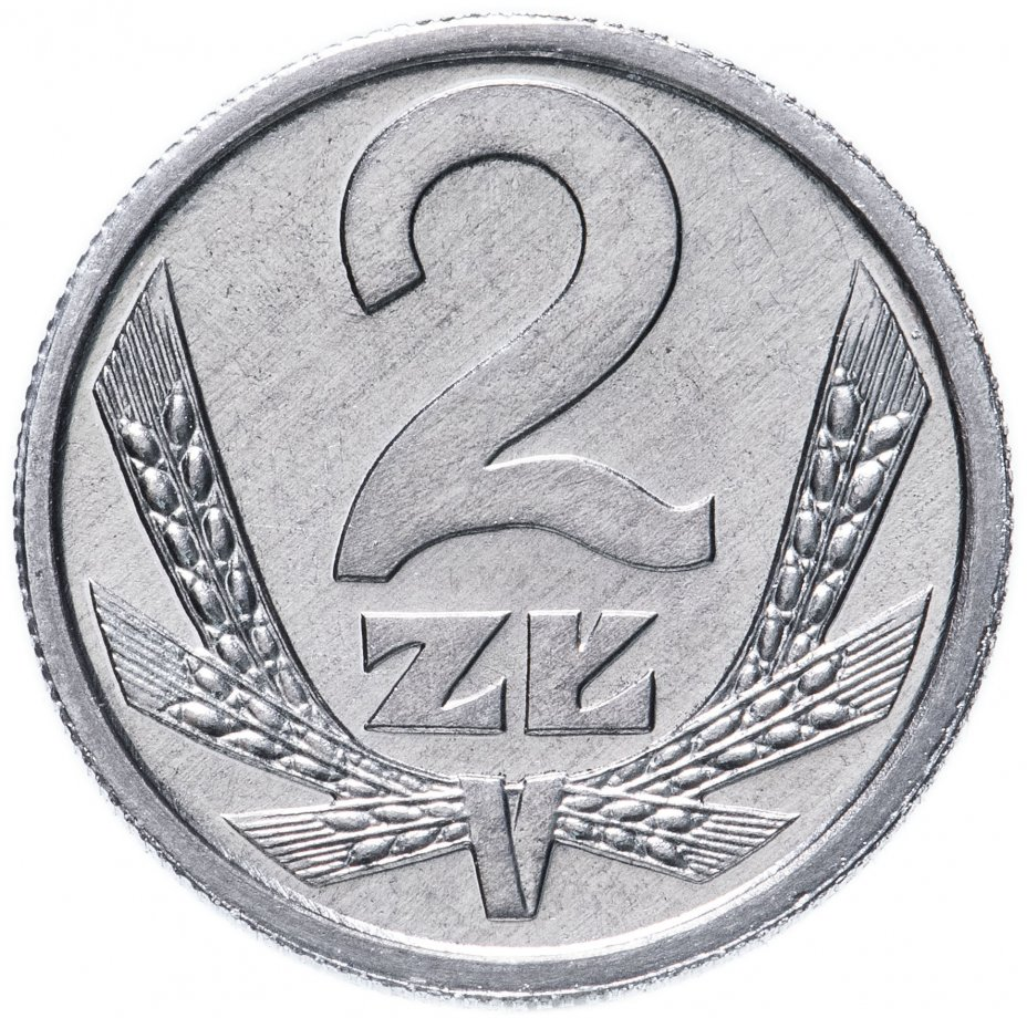 купить Польша 2 злотых (zlote) 1990