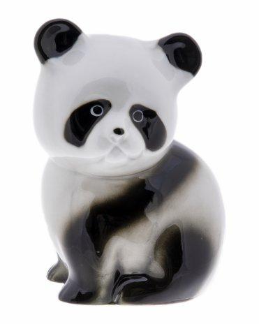 """купить Статуэтка """"Медвежонок панда"""", фарфор, роспись, Западная Европа, 2000-2010 гг."""