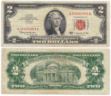 купить США 2 доллара 1963 (Pick 382a)
