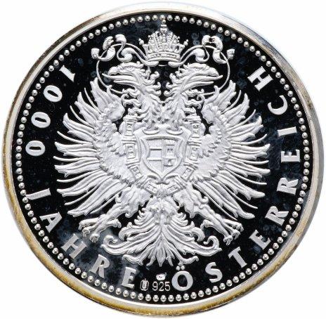 """купить Медаль """"1000 лет австрийской монархии - эрцгерцог Леопольд I"""""""