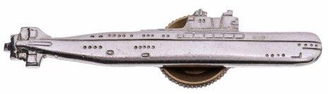 """купить Знак """"Подводная лодка"""", серебристый"""