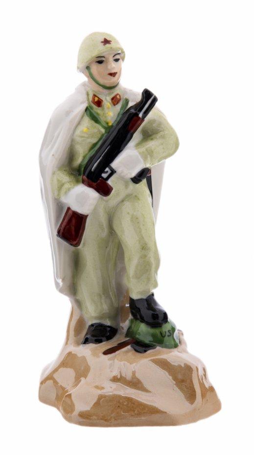 """купить Статуэтка """"Корейский солдат"""", фарфор, роспись, Корея, 1960-1970 гг."""