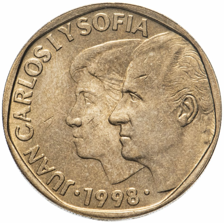 купить Испания 500 песет (pesetas) 1998
