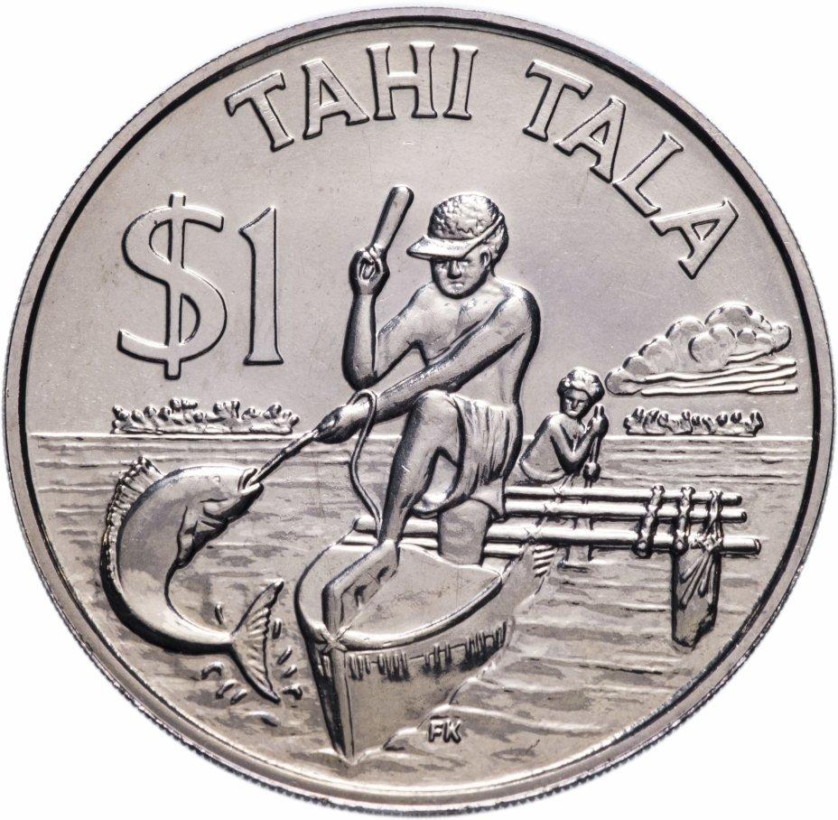 купить Токелау  1 доллар 1982